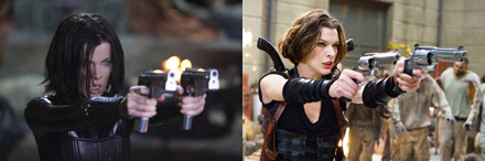 Underworld Awakening  / Resident Evil comparison
