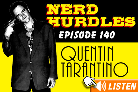 Click to listen to our Tarantino episode
