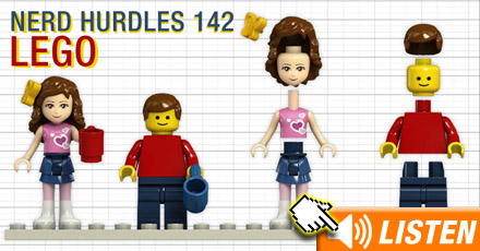 Click to listen to LEGO podcast