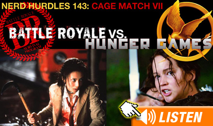 Click to listen to Hunger Games podcast