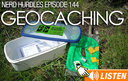 Click to listen to Geocaching podcast