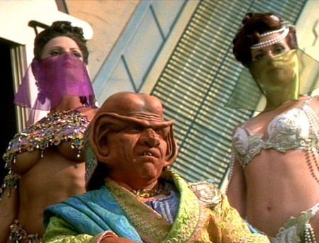 Ferengi slaves Voyager False Profits